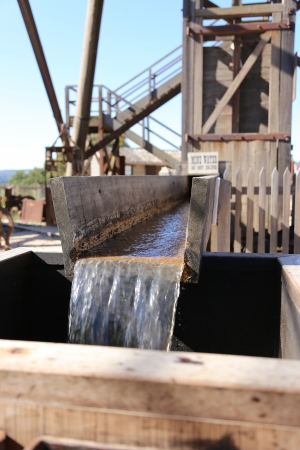 Flowing Water in Pipe