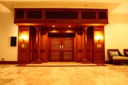 The ground of luxury modern Hall Editorial