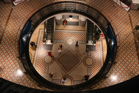 Top view at Queen Victoria Building in Australia
