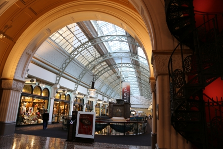 Shopping mall of Queen Victoria Building in Australia