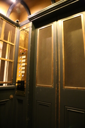 Vintage Lift at Queen Victoria Building in Australia