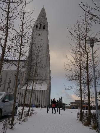 reykjavik: Islandia Reykjavik Iglesia Catedral