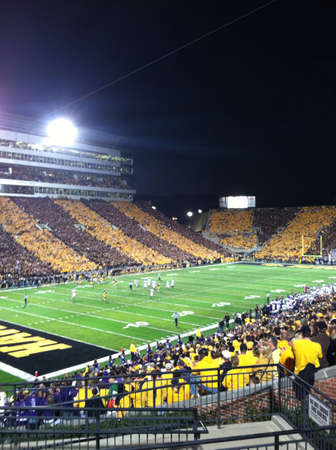 iowa: University of Iowa football game