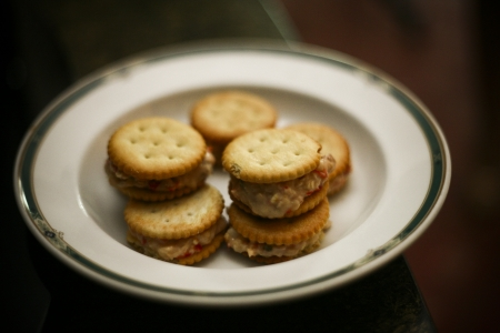 Biscuits served on classic plate