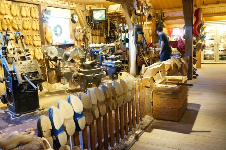 Wooden Shoe Workshop at the Zaanse Schans