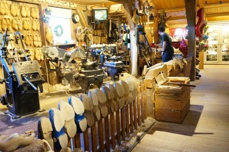 Wooden Shoe Workshop at the Zaanse Schans