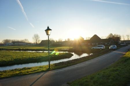 Zaanse Schans, Volendam;Europe Beautiful sunrise view Editorial