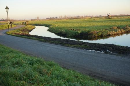 Zaanse Schans, Volendam;Europe - Countryside winter season