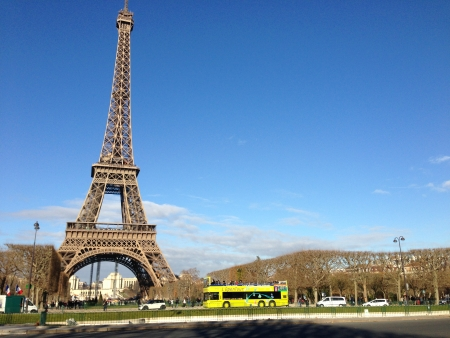 La Tour Eiffel; The Eiffel Tower - Tallest Structure in Paris