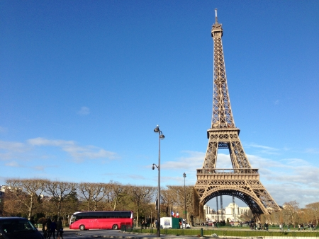 tallest: La Tour Eiffel; The Eiffel Tower - Tallest Structure in Paris