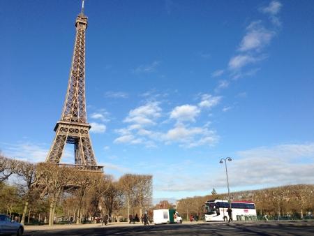 La Tour Eiffel; The Eiffel Tower - Tallest Structure in Paris