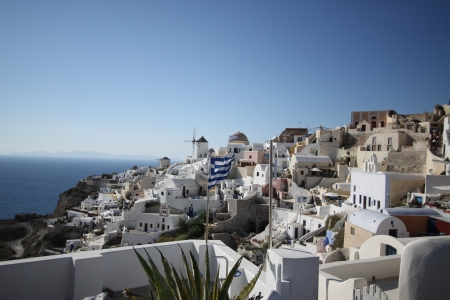 Santorini Island, Greece Editorial