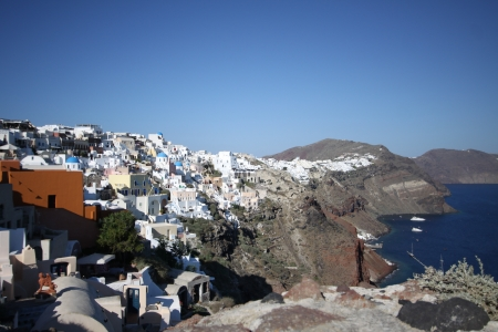 Santorini Island, Greece Stock Photo