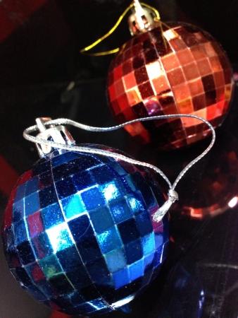 Christmas ornament close up