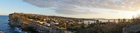 Panorama view of Sydney, Australia photo