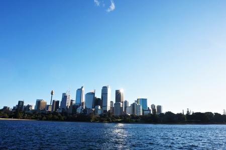 Australia Sydney City CBD skyline Stock Photo