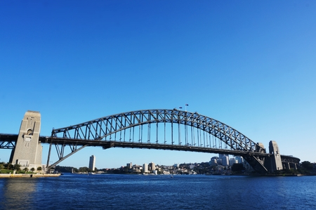 australian ethnicity: Photography of the Harbour Bridge in Sydney
