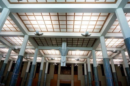 ground floor hall of office building