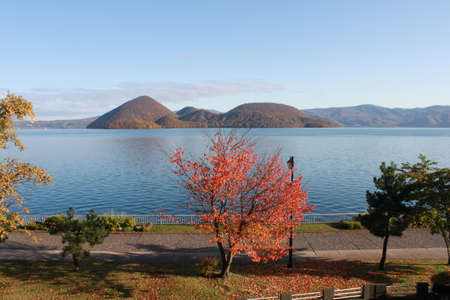 Lake Toya in Autumn