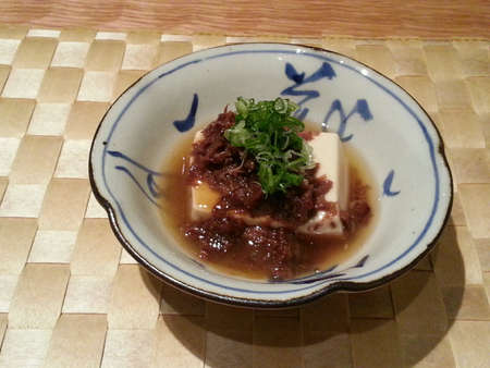 stewed: Japanese oden - stewed beef tendon with tofu