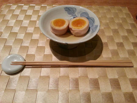 seasoned: Japanese oden - tamago, seasoned egg