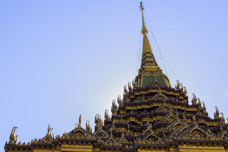 thailand temple: Thailand temple roof