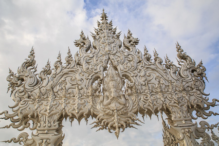 himmapan: Art sculpture of angle of Thailand
