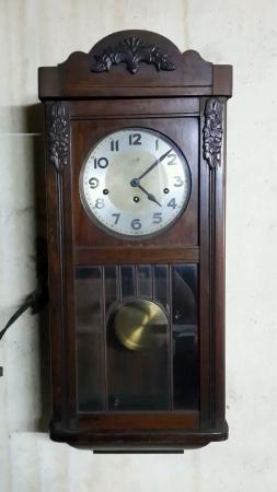 grandfather clock: Antique Grandfather Clock