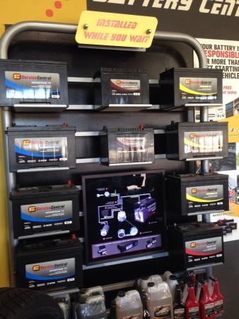 Battery display