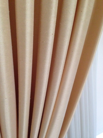 folds: Curtain folds Stock Photo