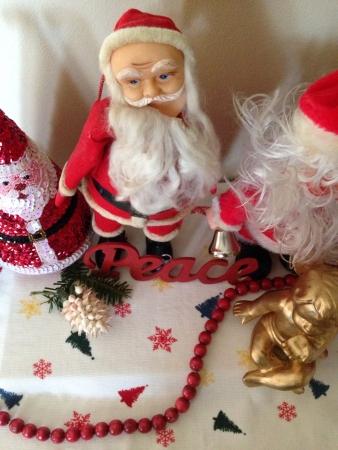 Santas en kralen