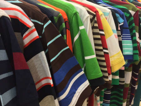 clothes: Many kinds of mens tshirts in different colours