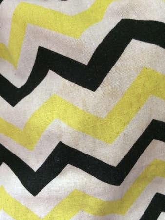 zig: Zig zag pattern fabric
