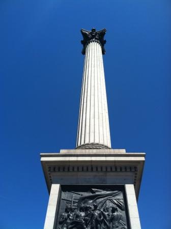 winston: Winston Churchill statue in Trafalgar Square London Stock Photo