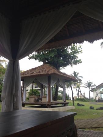 バリ島でリラックス