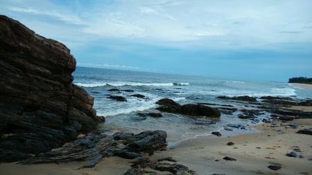 the east coast: East coast beach Stock Photo