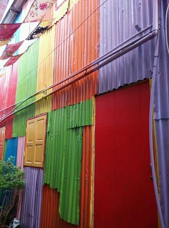 art: Colorful Street art Stock Photo