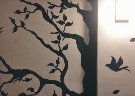 art: Wall art at treseville :