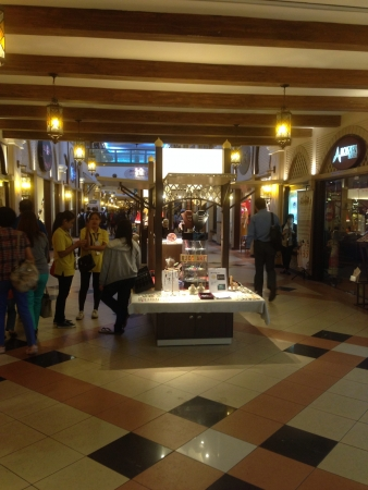 Interior of Marrakesh street in sunway pyramid