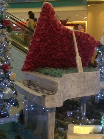 Decoration at sunway pyramid for Christmas  Stock Photo