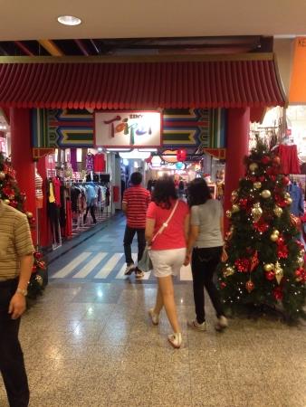 Entr�e Taipei minuscule dans Berjaya Times Square Banque d'images
