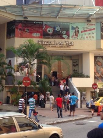 Low yat plaza entrance