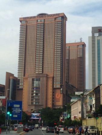 Berjaya Times Square building in Kuala Lumpur  Stock Photo