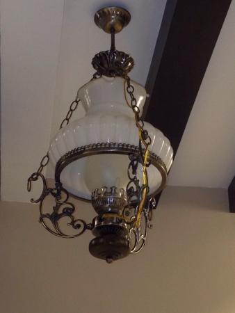 Lighting made to look like classic lamp