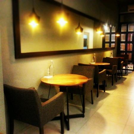 dimly: Cafe interior