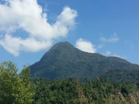 titiwangsa: The mountain of Banjaran Titiwangsa Stock Photo