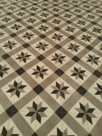 tile: The close up of tiles