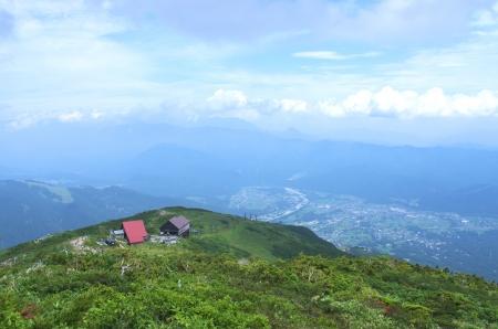 beautiful mountain view photo