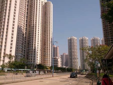 res: High res building at hong kong