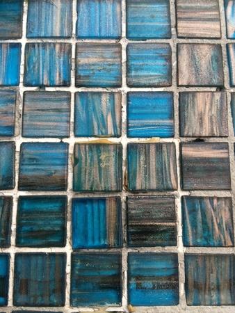 grid: Blue floor tiles texture